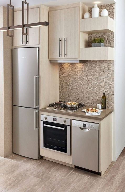 Simple Small Kitchen Design Ideas 2019 14 Small Modern Kitchens Tiny House Kitchen Small Apartment Kitchen