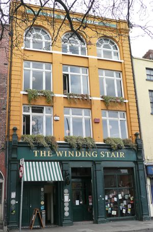 The Winding Stair Bookshop. Dublin, Ireland.