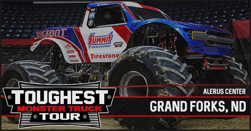 Hugo S Toughest Monster Truck Tour Championship Weekend Grand Forks Nd Monster Trucks Trucks Saginaw