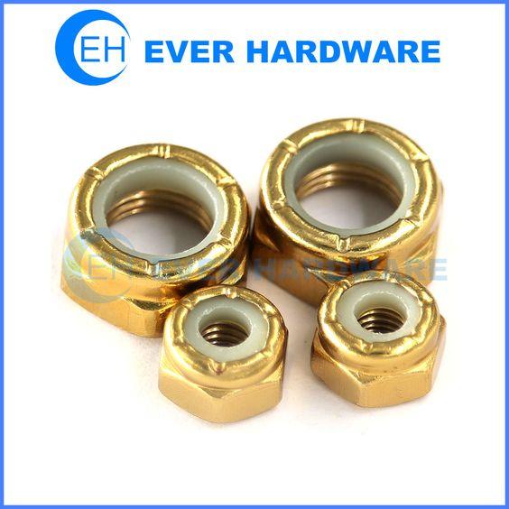 Gold skateboard nut