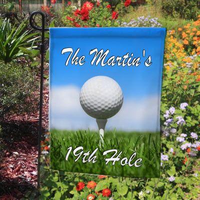 Personalized Golf Garden Flag Decorative Garden Flags