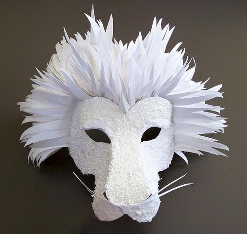 paper-cut-project-lion-mask