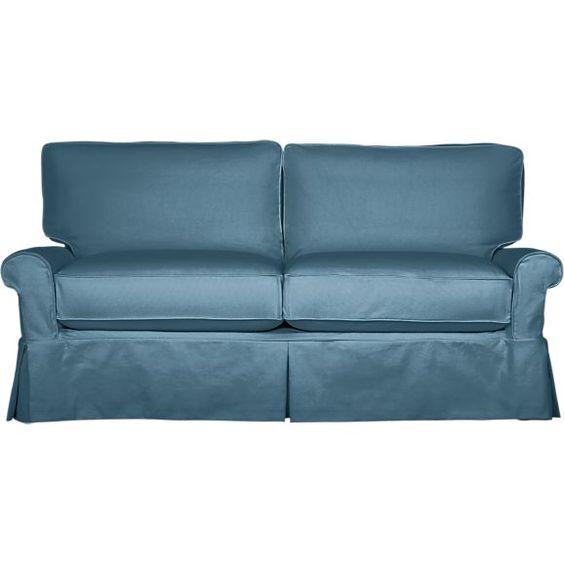 Bayside Full Sleeper Sofa, Crate and Barrel