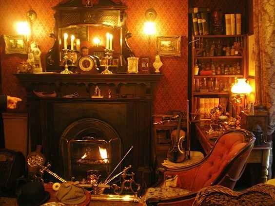 Sherlock Holmes room