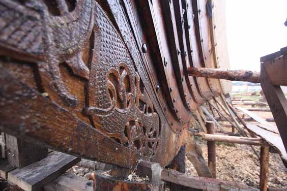 The Traditional Crafts Blog: building the world's most iconic viking ship, part 5
