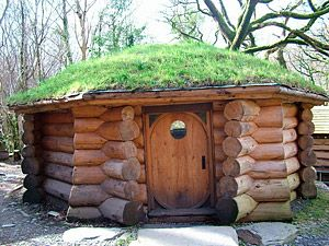 Log cabin Hogan TinyHouse Some of these remind me of Lord of
