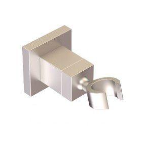 Artos F902-24BN Square Adjustable Handshower Holder in Brushed Nickel