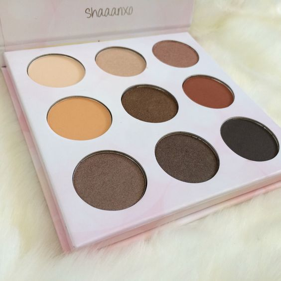 Shaaanxo eye shadows from new BH Cosmetics palette. Insta @ashleysitasays