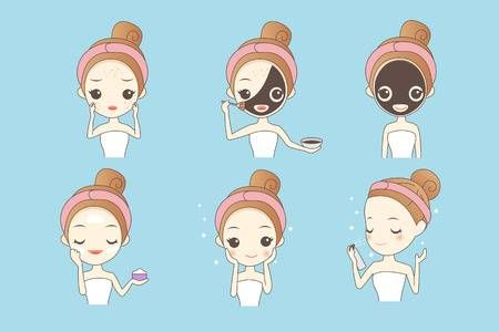 123rf Millions Of Creative Stock Photos Vectors Videos And Music Files For Your Inspiration And Projects In 2020 Skin Allergies Girl Cartoon Cartoon