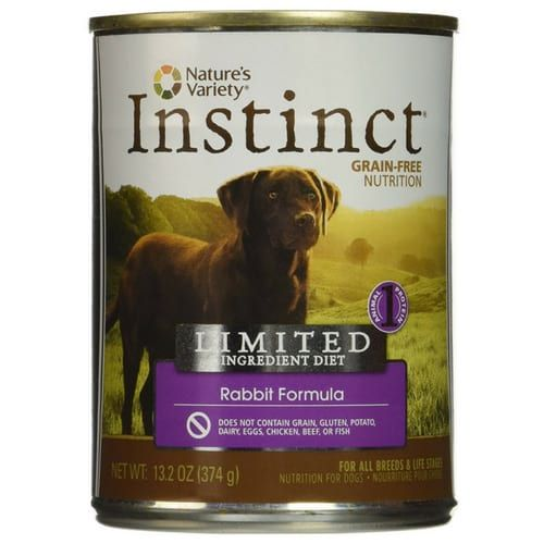 Natures Variety Instinct Grain Free Wet Canned Dog Food Best Dog Food Reviews Dogs Require A Different Bal Dog Food Recipes Best Dog Food Types Of Dog Food