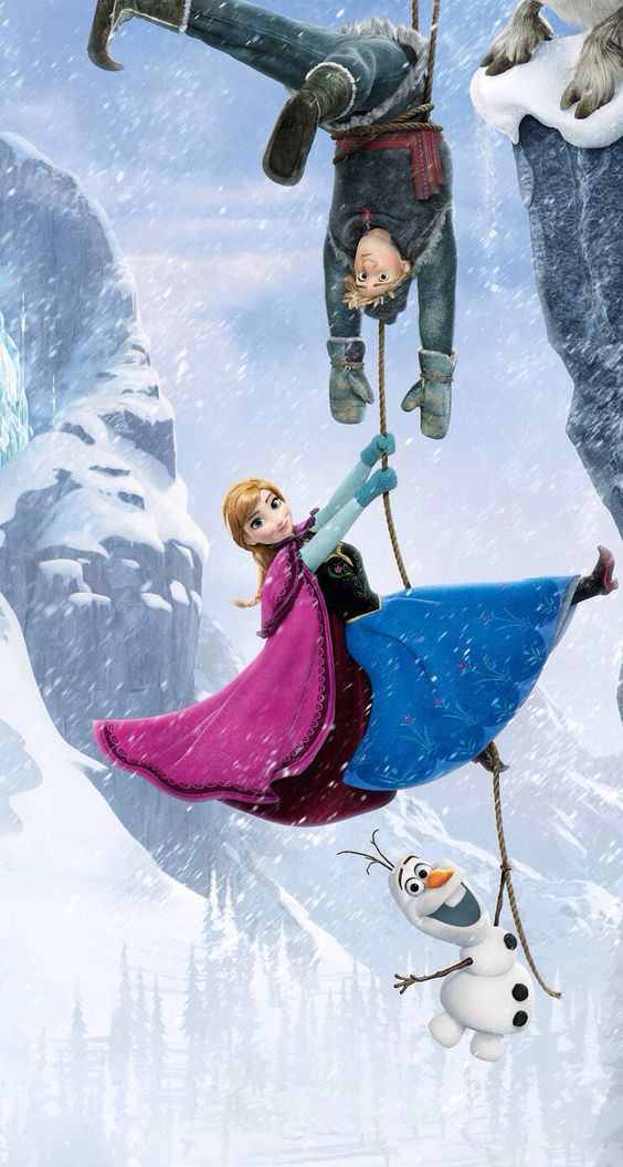 Frozen: Olaf, Anna, and Kristoff