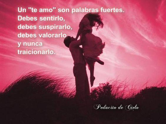 Un te amo...