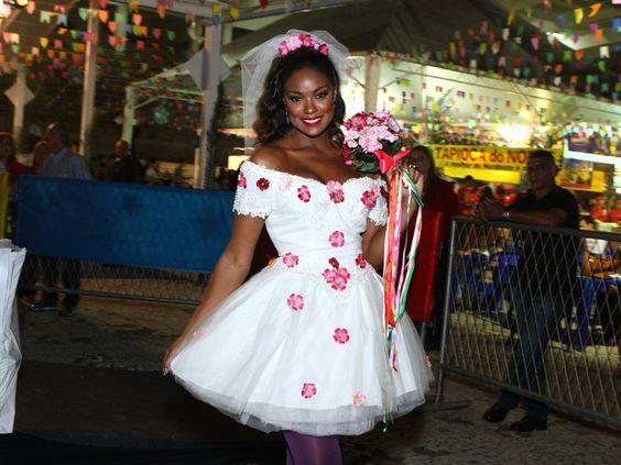 Vestido Festa Junina Noiva