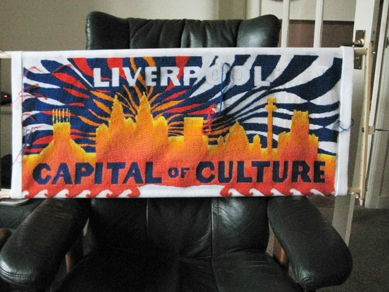 The Liverpool Tapestry - European Capital of Culture 2008 - Title panel