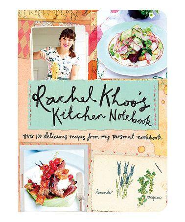 Look what I found on #zulily! Rachel Khoo's Kitchen Notebook Hardcover #zulilyfinds