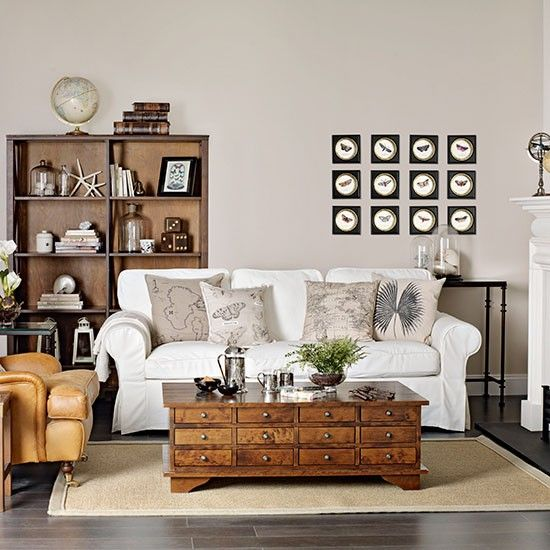 Neutral Living Rooms Wood Coffee Tables And Living Rooms On Pinterest