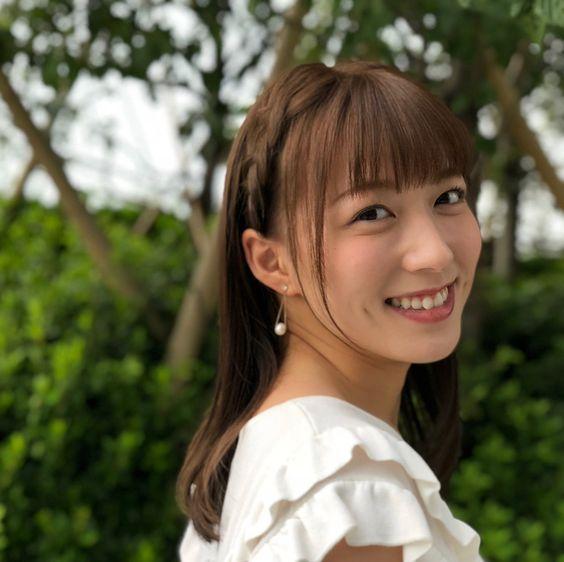阿部華也子可愛い笑顔と編み込み可愛い