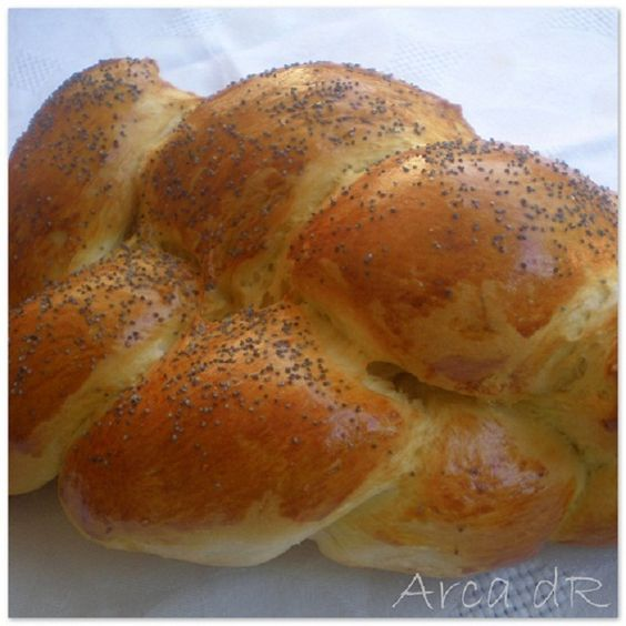 Jalá (pan típico que suele prepararse para el shabat)