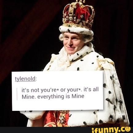 oh king george... the third