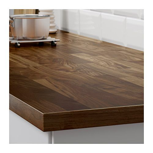 karlby countertop walnut islands butcher block counters and white cabinets. Black Bedroom Furniture Sets. Home Design Ideas