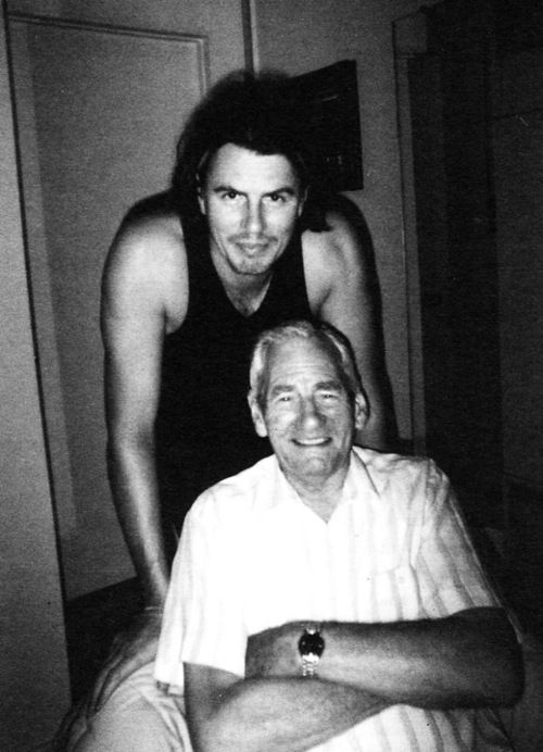 Aww! Lovely photo of John with his dad Jack..