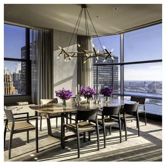 Let's start this week with style. Featuring @jonathanbrowninginc's Le Pentagon Chandelier. #interior #design #home #decor #style #life #likes #follow #instagood #instadaily #picoftheday #interiordesign #homedecor #lifestyle #monday #week #luxury #lighting #furniture #view