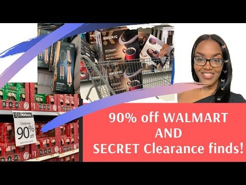 Walmart 90 Off Christmas Clearance And Unmarked Secret Clearance Finds Youtube Christmas Clearance Walmart Secret