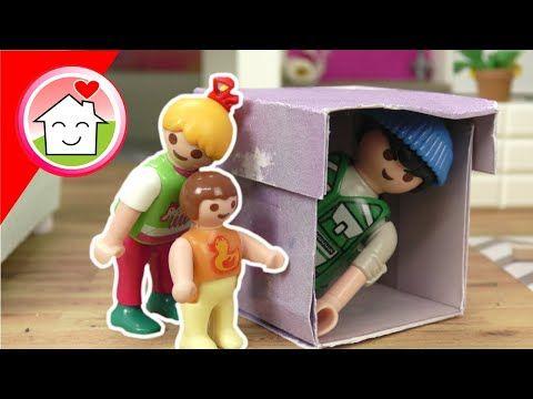 Playmobil Polizei Film Familie Hauser Und Das Geheimnisvolle Paket Kommissar Overbeck Youtube In 2020 Playmobil Kinder Spielzeug Kinder Filme