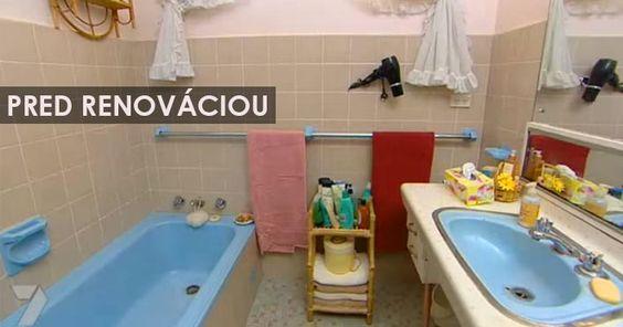 Šikovná Tara Dennis vám ukáže, čo všetko sa s takou kúpeľnou dá spraviť. Rekonštrukcia / Renovácia kúpelne. Nápady, tipy, vychytávky, triky, návod ako na to