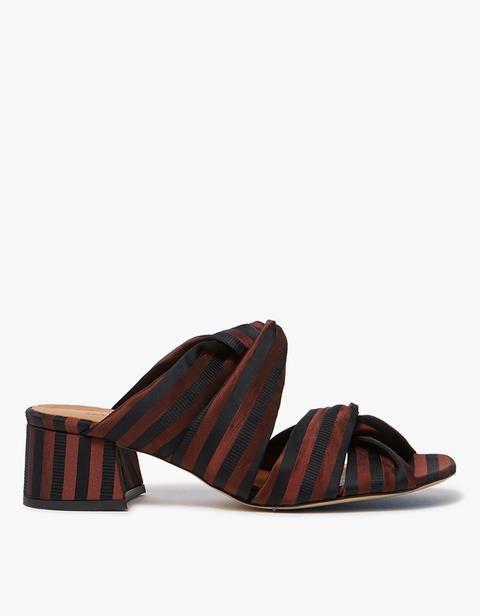 Ganni Amelie Sandals in Black