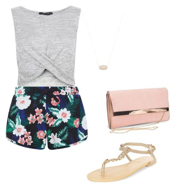 """""""Casual Wear"""" by courtney-eckerle on Polyvore featuring New Look and Kendra Scott"""