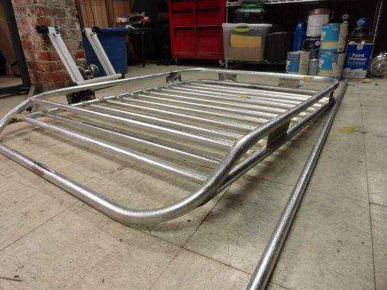 Build your own roof rack for 70 for Cheapest roof to build