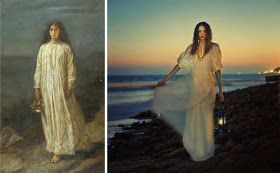 The Beautiful Necessity: Brooke Shaden's Pre-Raphaelite Fashion Shoot