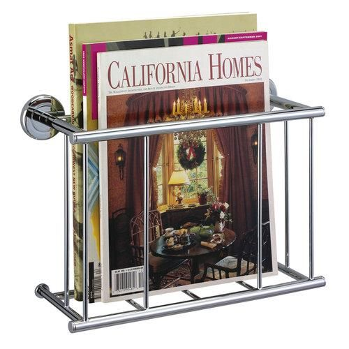 Gatco 1551 Minimalist Magazine Rack (00011296155107) Minimalist Magazine Rack The finest in fashion bath, kitchen and home accessories. From traditional to contemporary, offering a variety of designer collections to compliment your style. Choose from many bathroom accessories such as towel bars, mirrors, grab bars, shower curtain rods, hooks, and free standing and counter top accessories. Gatco's Premier collections are constructed of the finest brass. Our high quality pieces are fabricated…