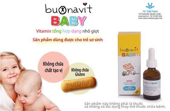vitamin tổng hợp buonavit baby