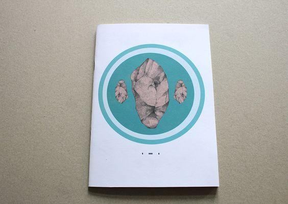 Stein - Notizheft A5/A6 von Irina Mmurs Things auf DaWanda.com