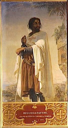 Hugues de Payns, premier maître de l'ordre du Temple (?-1136)