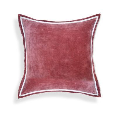 A1 Home Collections LLC Hand crafted Velvet Throw Pillows Color: