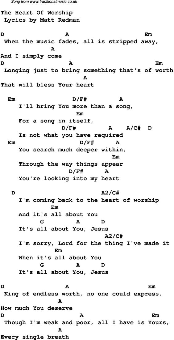 christian music chords and lyrics | Download these lyrics and chords as PNG graphics file For DTP etc (no ...