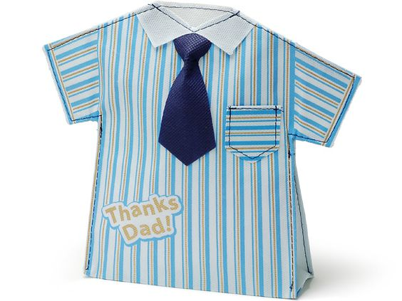 00-15310-849 不織布バッグ 父の日シャツ ブルー