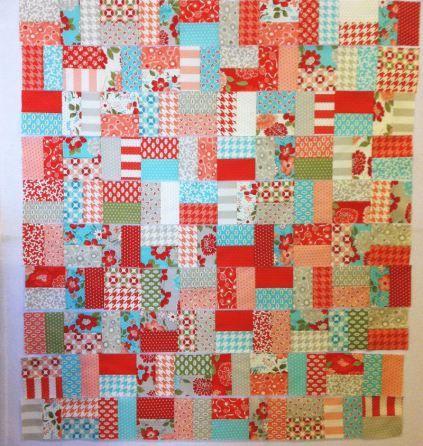 10 Rows of Blocks