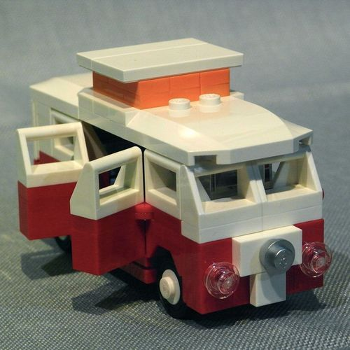 vw t1 camper by nils o lego pinterest posts lego. Black Bedroom Furniture Sets. Home Design Ideas