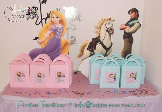 Decoración Fiesta Rapunzel