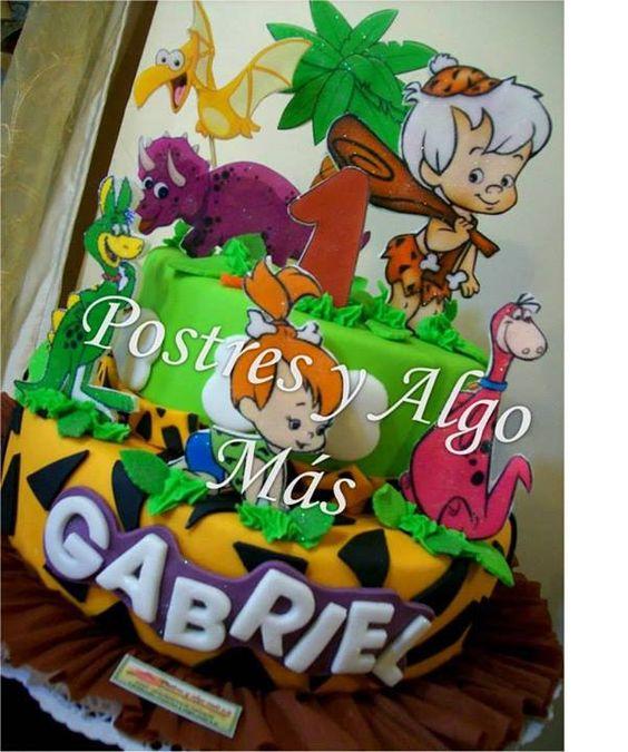 Pebbles picapiedra and Tartas on Pinterest