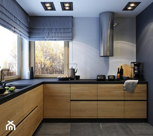 Mieszkanie Osiedle Lesne Srednia Otwarta Zamknieta Kuchnia W Ksztalcie Litery U S Kitchen Inspiration Modern Kitchen Interior Kitchen Interior Design Modern