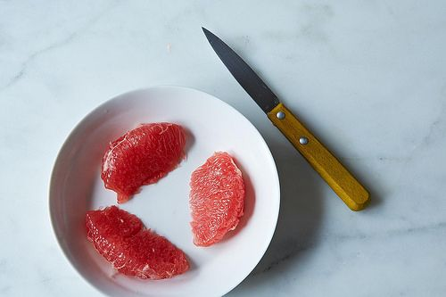 Food52_Segment a grapefruit