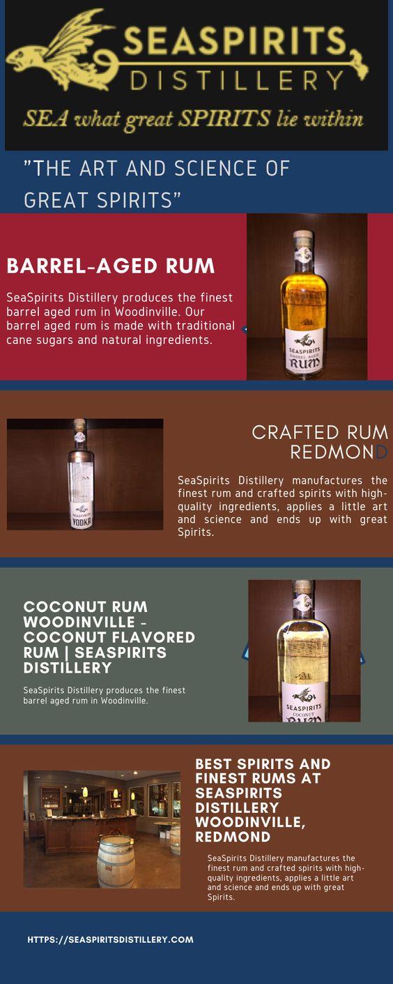 Best Spirits And Finest Rums At Seaspirits Distillery Woodinville Redmond In 2020 Distillery Rum Rum Recipes