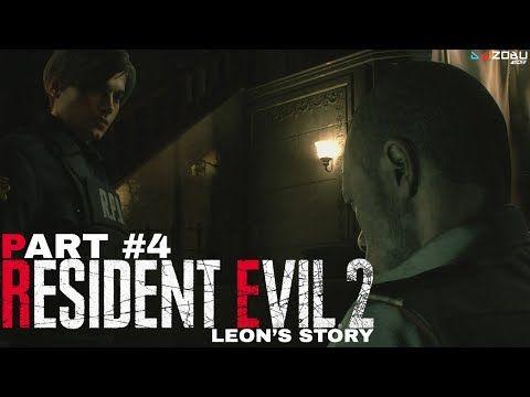 Resident Evil 2 Remake 2019 Walkthrough Leon 4 Ps4 Re2