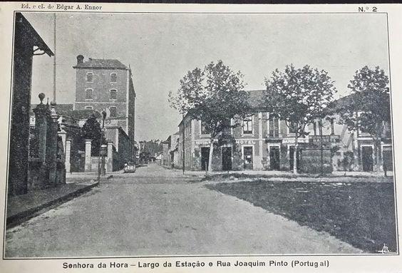 Largo da Estação e Rua Joaquim Pinto