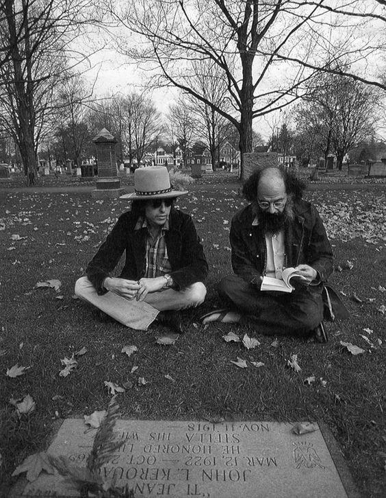 Bob Dylan & Alan Ginsberg